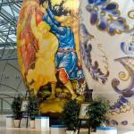 Матрешки-гиганты в Москва-Сити