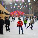 В Парке Горького заработал каток