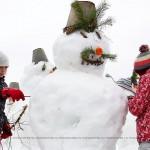 Парк Горького заселили снеговики