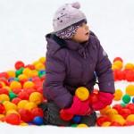 В Лужниках появилось Снежное королевство