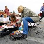 В Москве нарисовали Покровский собор