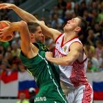 Россия - Литва: приняли гостеприимно, обыграли профессионально
