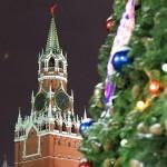 В объективе - новогодняя Москва