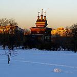 Коломенское: зимняя прогулка в марте
