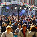 Пасха: празднование в городе