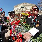 9 мая: идут ветераны