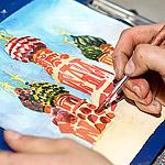 Как нарисовать храм