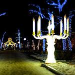 Новогодний Гоголевский: при свечах
