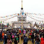 Московская масленица: радостно и масштабно