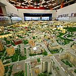 Прирос метрами: макет Москвы - год спустя