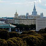 Посмотреть на Москву с высоты Парка Горького