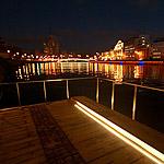 Зарядье: парк и мост - ночь