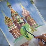 В Москве прошел 9-й арт-фестиваль «Рисуем Покровский собор»