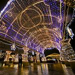 Москва встречает рождество!